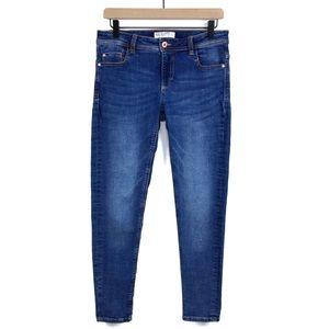 NWOT Zara Basic Z1975 Denim Mid Rise Skinny Jean 6
